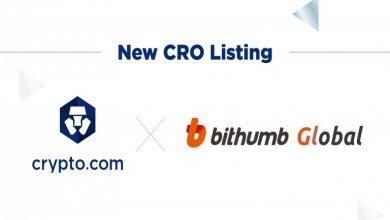 Photo of Crypto.com Chain Token (CRO) to be Listed on Bithumb Global Exchange