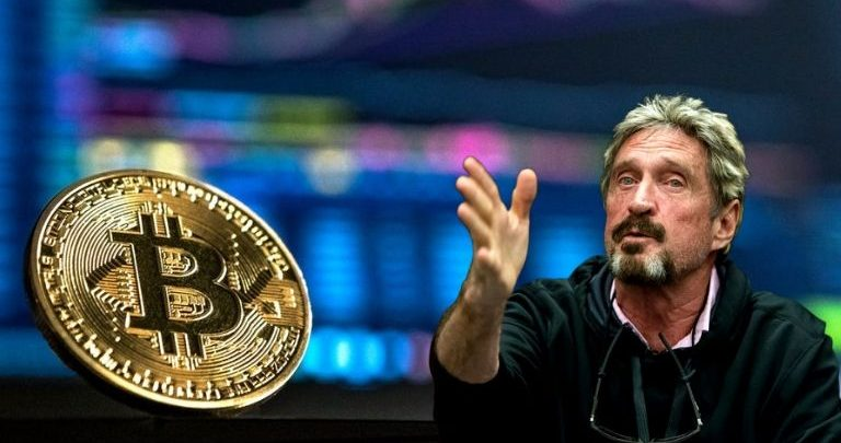 John McAfee and cryptocurrency