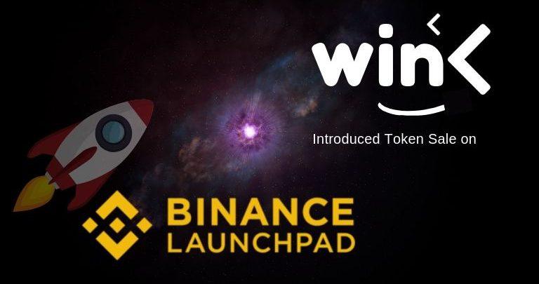 wink token sale on binance launchpad