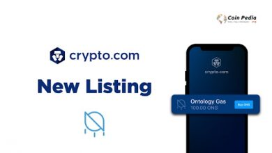 Photo of Ontology Gas (ONG) Is Now Listed On The Cryptocurrency, Crypto.com