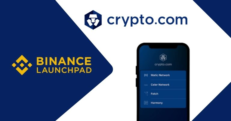Crypto.com Lists Binance Launchpad Token