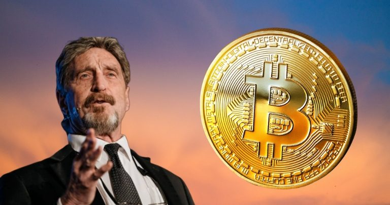 Bitcoin Waking Up Again Says John McAfee