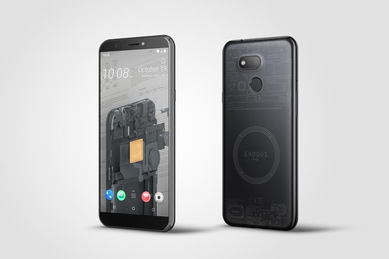 HTC Unveils Cheaper Blockchain Smartphone - Exodus 1s