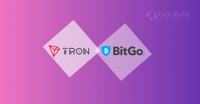 tron and bitgo