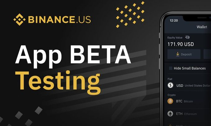 binance us beta test