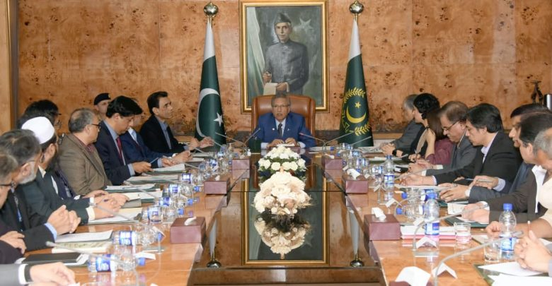 President-Arif-Alvi-Chairs-Meeting-of-Taskforce-on-Emerging-Technologies