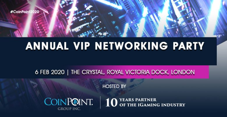 CoinPoint Group Inc. 10Y VIP London Party