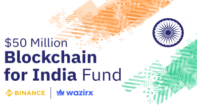 Photo of 'Blockchain for India' – Binance and WazirX announce $50M for Indian Blockchain Startups
