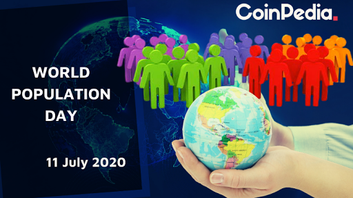 population and blockchain