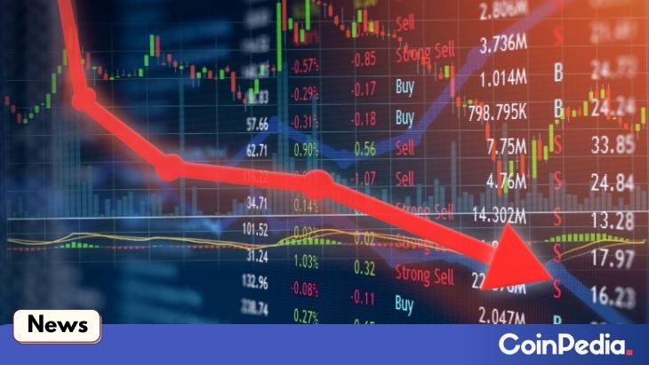 Altcoin price plunge