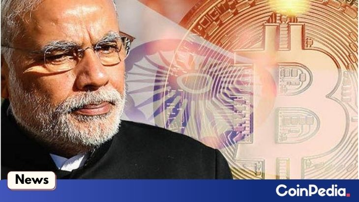 India's PM Favors Blockchain Amidst Even NSE Awaits for Crypto Clarity