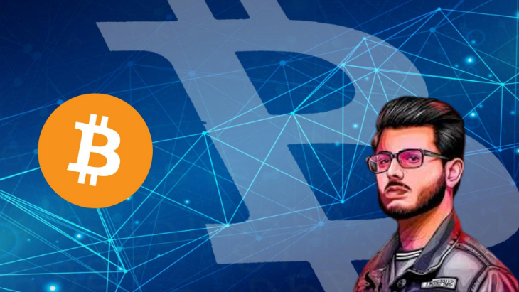 carryminati and bitcoin