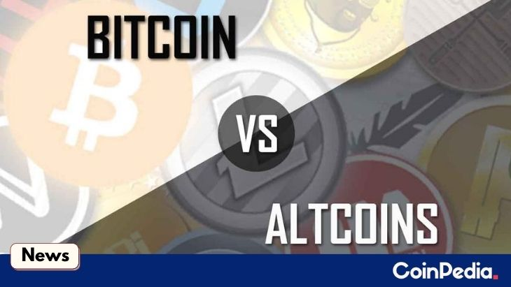 Bitcoin Dominance Drops Below 60 Percent While Altcoin Continue to Rally
