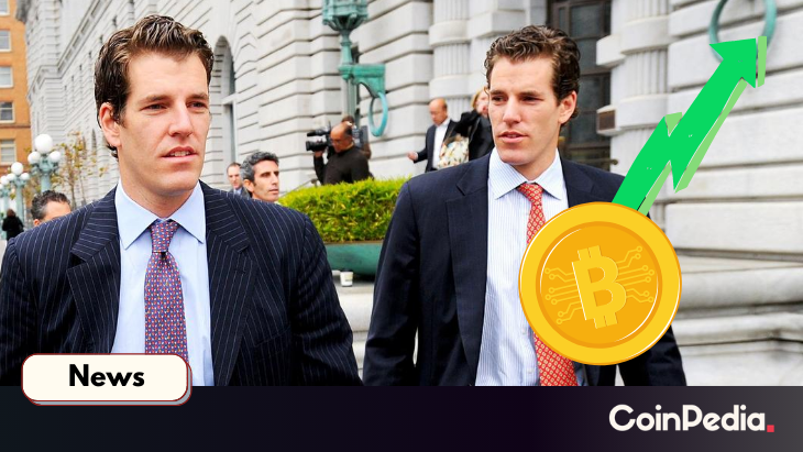 Very Big Bitcoin Whale All Set to Come While Winklevoss $500K at Bitcoin
