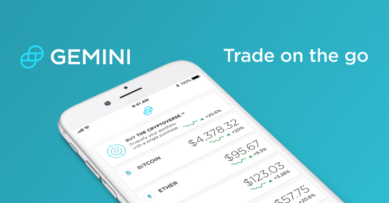Gemini-Exchange-Mobile-App