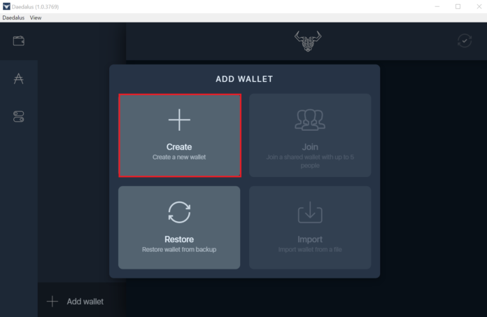 create-wallet-daedalus