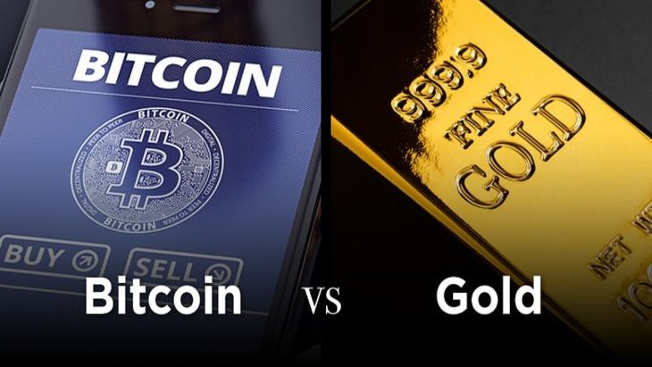 Bitcoin vs Gold Investment
