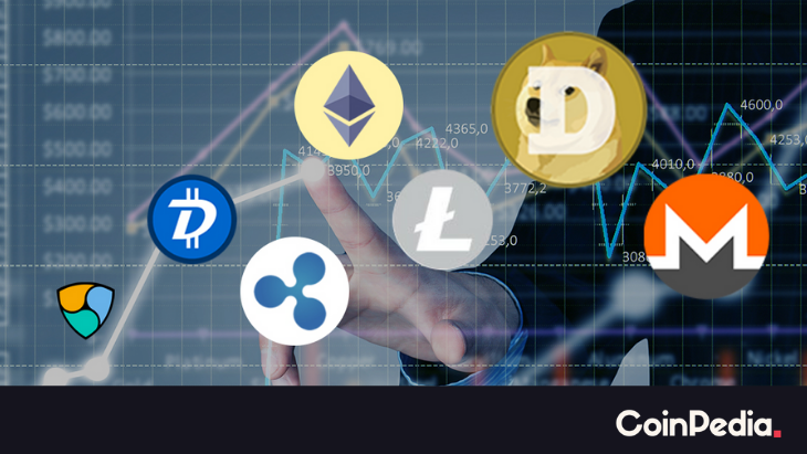 Altcoin's Jump Long, MATIC, MKR, HNT, ONE Price Spike Up More Than 30%
