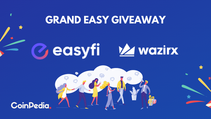 WazirX and EasyFi Collaborate to Begin Trade and Host a Grand EASY Giveaway