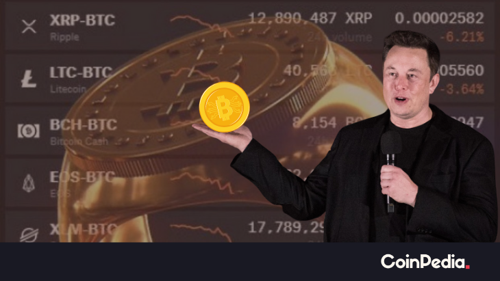 'Bitcoin Price Is Vital to Uphold the Crypto Space' Claims Elon Musk in an Encoded Tweet