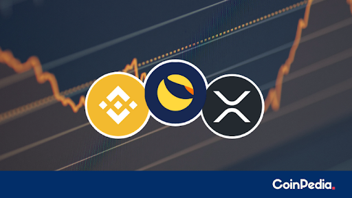 BNB Price Sweeps Down, LUNA and XRP Price Slumping?