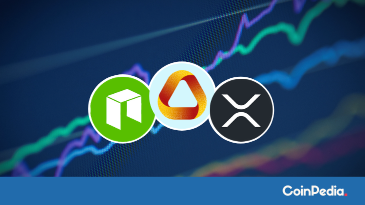 XRP Price Gets Uplifted, NEO and ATA Hitched in a Similar Trend?