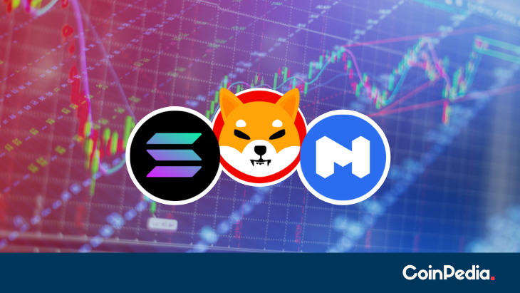 SHIB Price Falls Flat, MATIC to Follow and SOL to Dip