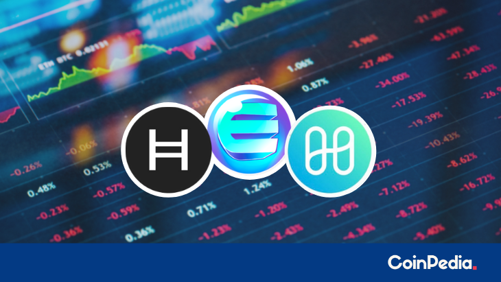 Will HBAR Price Resume A Bullish Trade? What's the Destiny of ENJ And ONE?