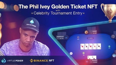 Photo of Binance NFT and Virtue Poker Auction: Play Poker Against Phil Ivey, Vince Vaughan, and More