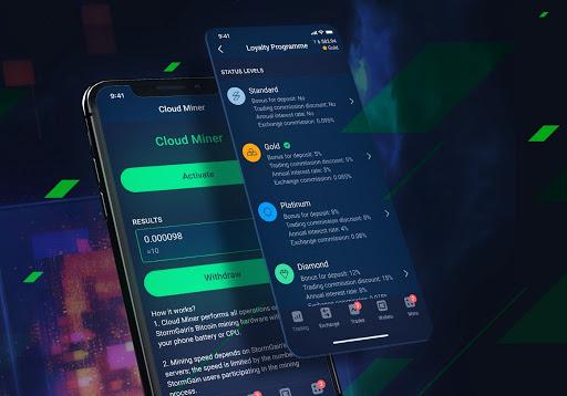 StormGain Has a Top Cloud Mining Service!
