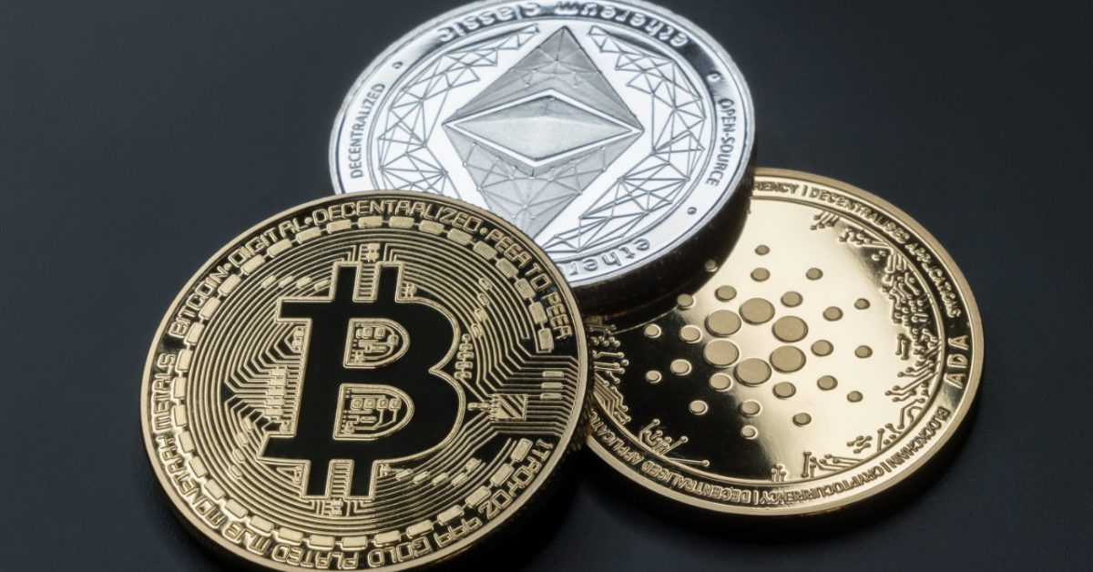 Bitcoin, Ethereum & Cardano