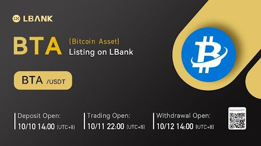 LBank Exchange Will List BTA