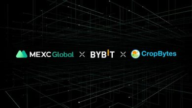 Photo of Crypto Farm Builder Game CropBytes Listing on MEXC Global and Bybit