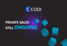Photo of Solana Blockchain-based, CODI Finance Announces IDO Launchpad and NFT Marketplace During Private Sale